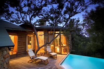 Tsala treetop lodge die besten 1000 hotels der welt for Designhotel norditalien